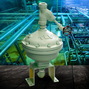 Air Traps for High Viscosity Condensate
